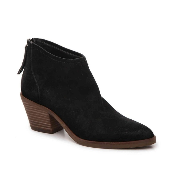 Dolce Vita Shoes - Dolce Vita | Elisa Black Suede Ankle Booties Sz 9